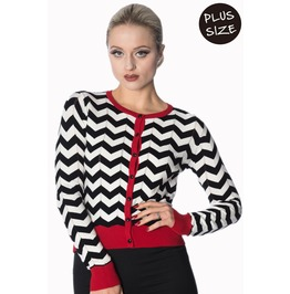 Banned Apparel Black Coffee Cardi Plus Size