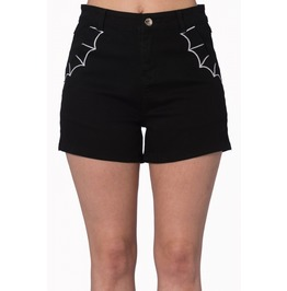 Banned Apparel Bell Tower Bat Shorts