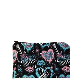 Girl Gang Horror Babe Zipper Makeup Bag