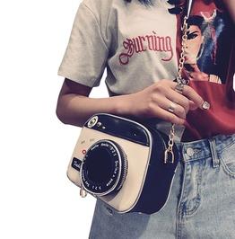 Trendy Women's Cute Camera Clutch Bag