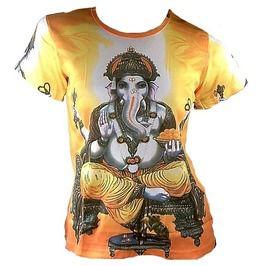 e3188baa2ad0 Lord Ganesh Ganesha Hindu Tattoo Goa Party T Shirt M