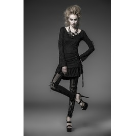 Gothic Sexy Lacy Knitted Leggings