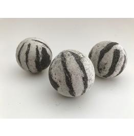 Zebra Stripe Camo Bath Bomb