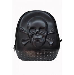 Banned Apparel 3d Skull Backpack