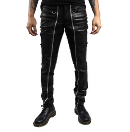 Dr. Frankenstein Black Industrial Zippered Pants Drfrk91