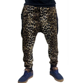 Fango Leopard Harem Mc Hammer Parachute Pants Fgo005