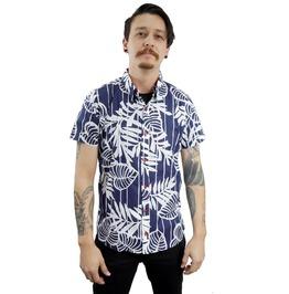 Fango Hawaiian Tropical Inspired Button Shirt Fgo034