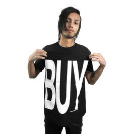 Post Punk Distressed Buy Print Shirt