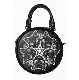 Banned Apparel Esotericat Round Bag
