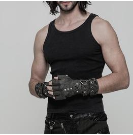 Steampunk Military Fingerless Gloves