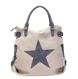 Vintage Big Star Tote Handbag