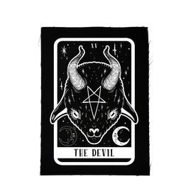 The Devil Baby Goat Tarot Card Patch