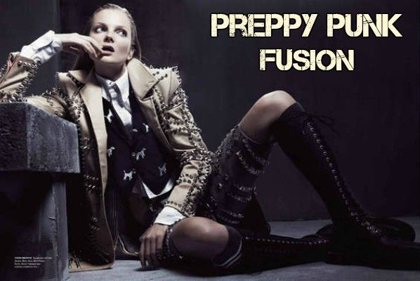 Tips For Preppy Punk Fashion