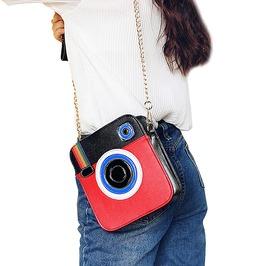 Fancy Women's Camera Shaped Leather Bag