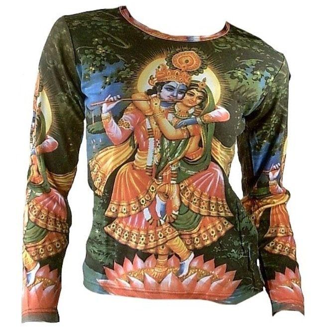 21b61b3e Krishna Radha Love Karma Hindu Tattoo Ink T Shirt M L | RebelsMarket