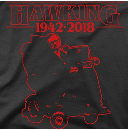 Stranger Things Stephen Hawking Unisex T Shirt S 3 Xl Limited Edition