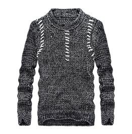 Trendy Streetwear Knit Pullover Men Sweater