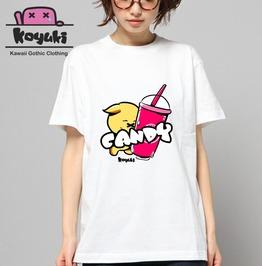 Candy By Koyuki Original Design Kawaii Harajuku Japan White Tshirt