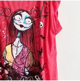 The Nightmare Before Christmas Sally T Shirt