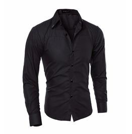 Elegant Casual Long Sleeve Men Shirt