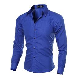 Casual Business Long Sleeve Men Shirt