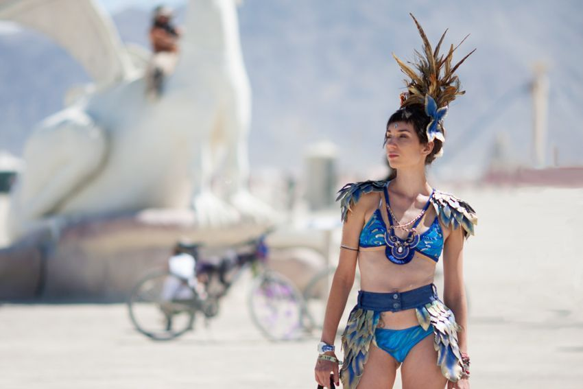 Fashion for burning man how to beat the heat in style
