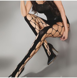 Gothic Punk Mesh Hollow Out Pantyhose Women Hosiery