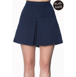 Banned Apparel Cindy Navy Short Plus Size