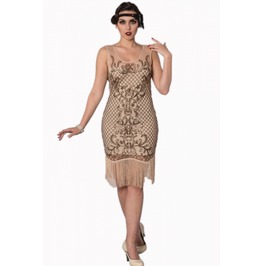 Banned Apparel The Great Gatsby Nude Dress