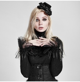 Gothic White Lace Gloves For Women