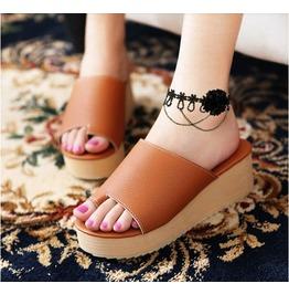 Retro Fashion Black Flower Lace Ankle Chain