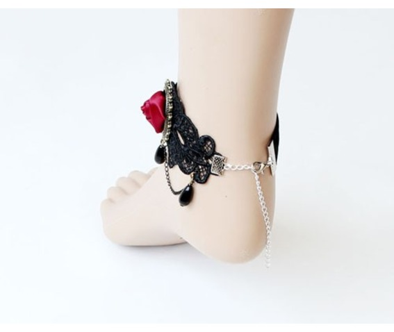 gothic_vintage_rose_lace_ankle_chain_earrings_2.jpg