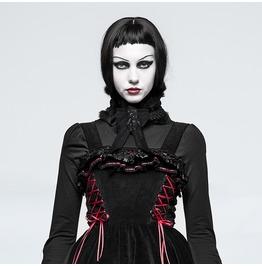 Gothic Lolita Black Spliced Lace And Rabit Fur Headwear/ Neckwear For Women