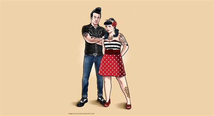 What is rockabilly fashion