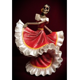 Dancing Day Of The Dead Skeleton