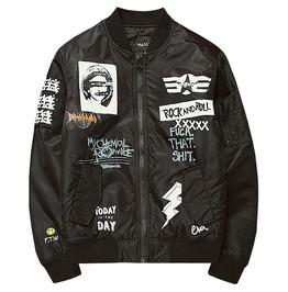 Rocker Men's Bomber Flight Jacket
