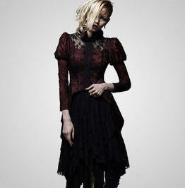 671ab8275aa Sexy Women Black Irregular Gothic Skirt