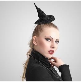 Gothic Black Wizard Hat For Women