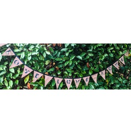 Fabric Love Bunting, Love Love Love, All You Need Is Love, Love Banner