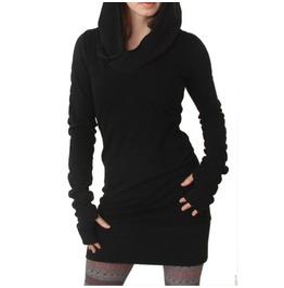 Autumn Winter Women Sweat Hoodies Solid Causal Long Sleeve Hooded Thin Long