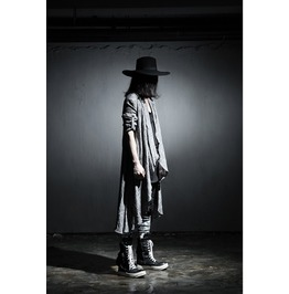Punk Vintage Long Sleeve Linen Mens Shawl Coat