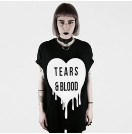 Tears & Blood T Shirt