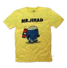 Mr.Jihad Dynamite Funny Terrorist T Shirt Yellow
