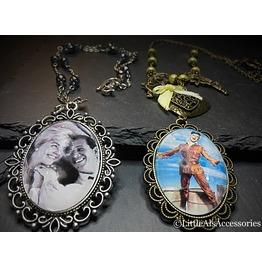 Doris Day Cameo Necklace, Film Pendant, Quirky Jewelry, Calamity Jane