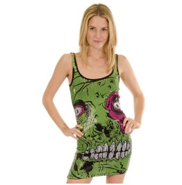 Iron Fist Zombie Stomper Sequin Disco Mini Dress