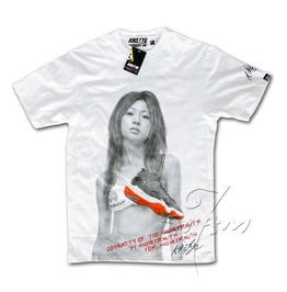 "Kiks Tyo ""Yuko Ishida"" Men's Retro Sexy White T Shirt"