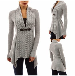 Spring Fashion Knitted Women Cardigan Sweater