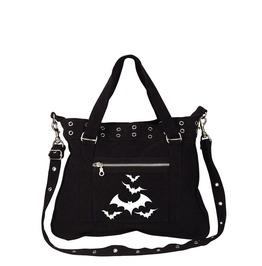 Halloween Bats Black Canvas Pistol Belt Bag