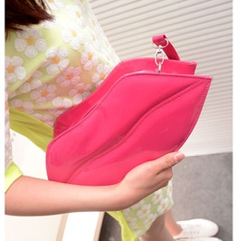 Fashion Pink Lips Handbag Bag Messenger Bag