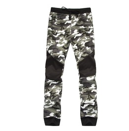 Men's Fashion Camouflage Colorblock Drawstring Joggers